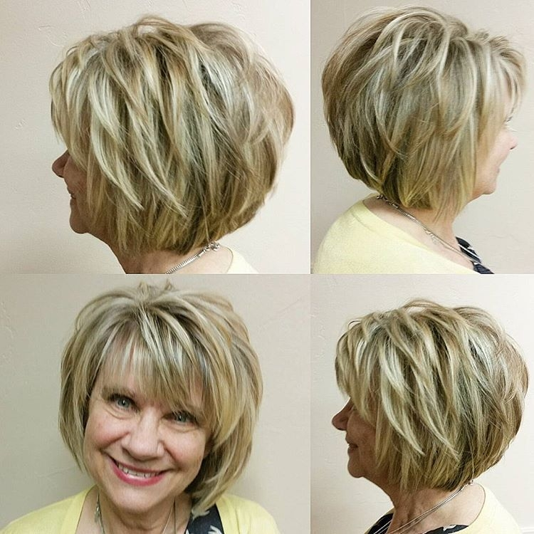 Stylish cute little lady and her fab bob we put in blonde and Cute Hairstyles For Short Layered Hair Ideas