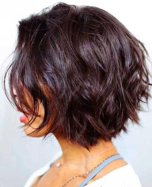Stylish dark short layers short hair with layers hair styles 2017 Short Bob Hairstyles Pinterest Ideas