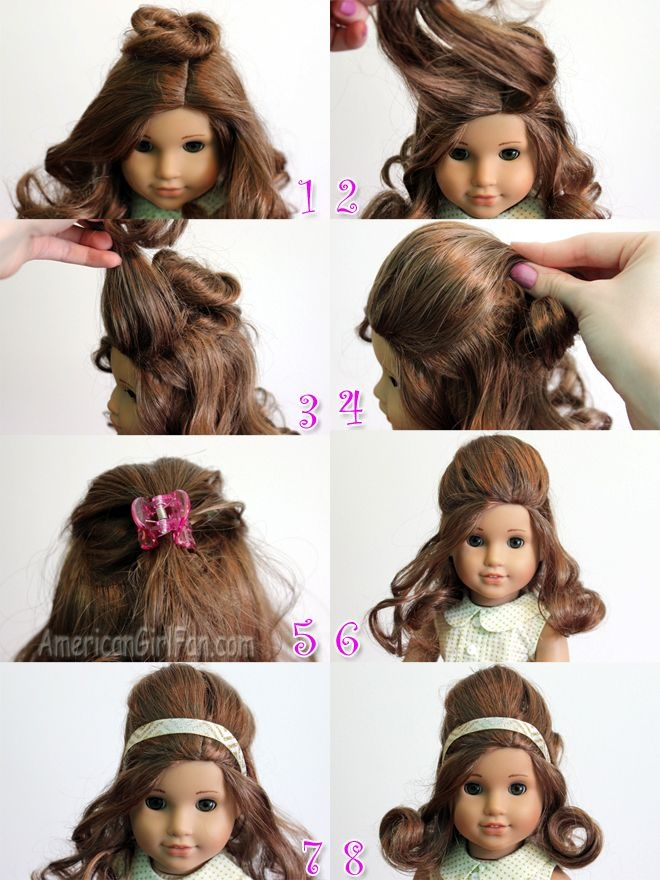 Stylish doll hairstyles american girl doll hairstyles american Cute Hairstyles For American Girl Dolls With Curly Hair Ideas