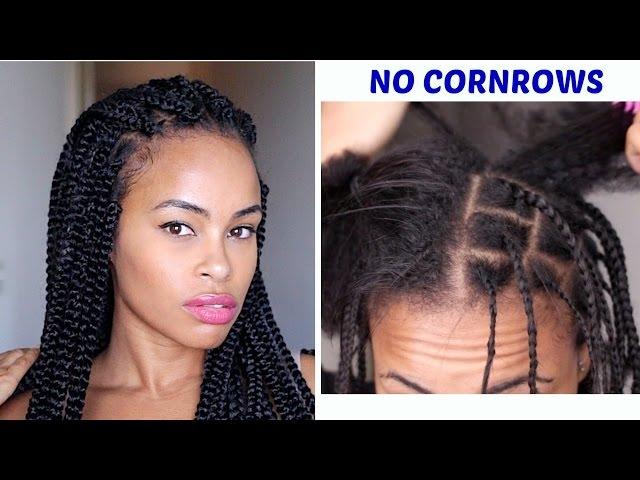 Stylish easy crochet box braids no cornrows versatile styles Crochet Hair Braiding Styles Ideas