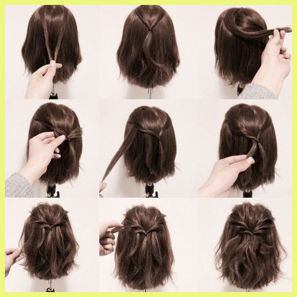 Stylish easy hairstyles for short curly hair to do at home 81593 28 Easy Hairstyles For Short Hair To Do At Home Choices