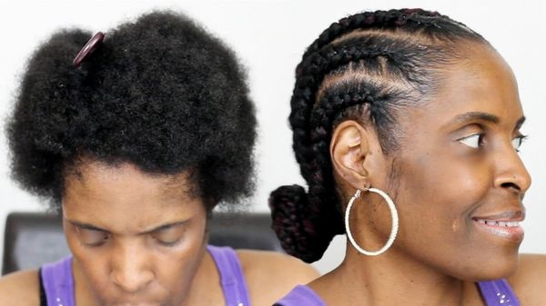 Stylish easy natural hairstyles for black women trending in Quick Styles For Short Black Hair Ideas