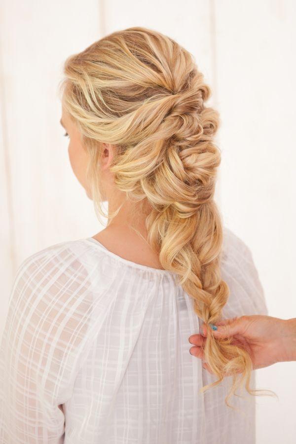 Stylish french braid twist tutorial braided hairstyles for wedding French Braid Hairstyles For Weddings Ideas