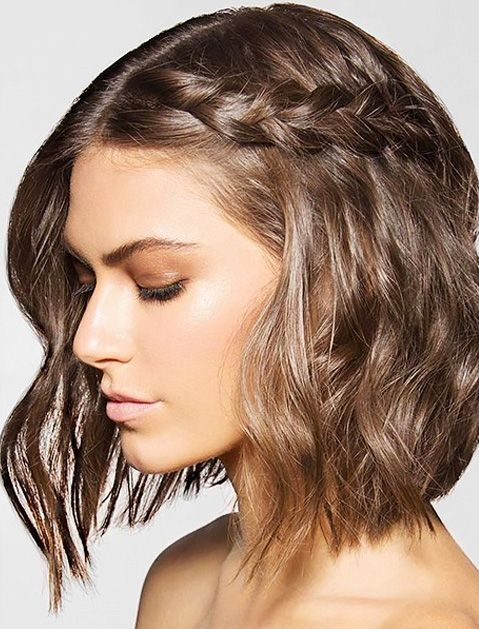 Stylish gorgeous hair ideas for holiday party season short hair Party Ideas For Short Hair Inspirations