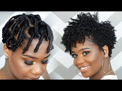 Stylish how to do a braid out on tapered natural hair feat camille African American Natural Hairstyles Twist Out