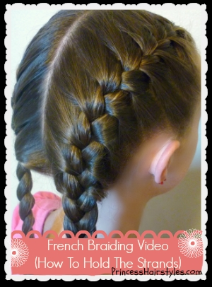 Stylish how to french braid hairstyles for girls princess hairstyles French Braided Hair Styles Inspirations