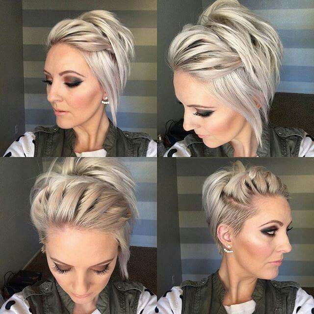 Stylish long undercut pixie great styling ideas for the few Styling Ideas For Really Short Hair Choices