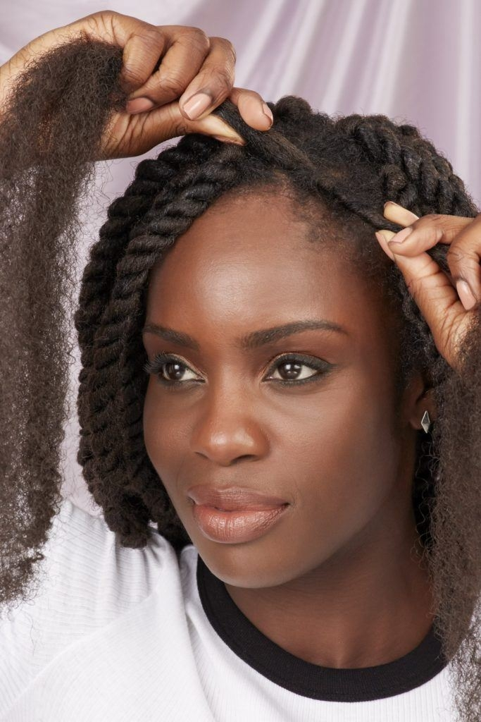 Stylish marley braid hair what it is what it isnt and how to Braid Styles With Marley Hair Ideas
