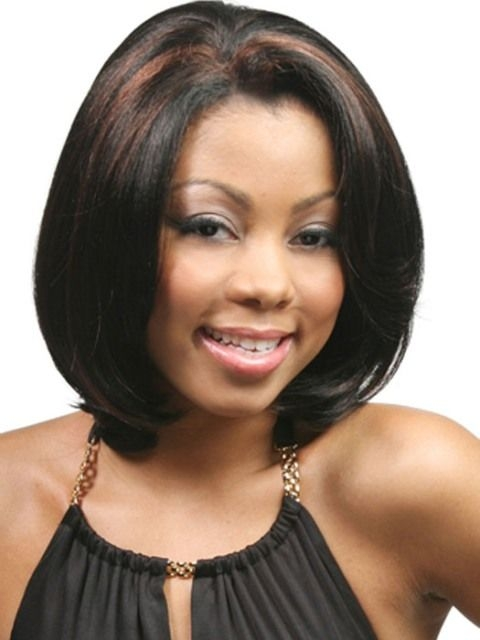 Stylish medium length hairstyles for african american women with Medium Length Hairstyles For African American Women Designs
