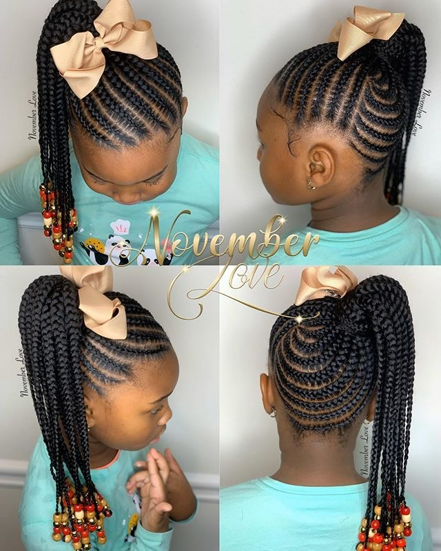 Stylish november love on instagram childrens tribal braids and Black Kids Hair Braiding Styles Pictures Choices