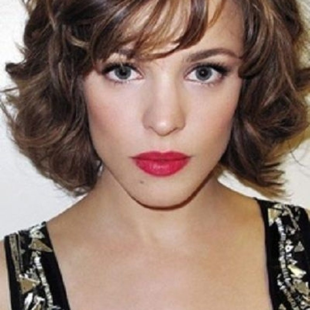 Stylish pin amanda walker on hair styles hair styles thick Short Hairstyles For Long Faces Curly Hair Choices