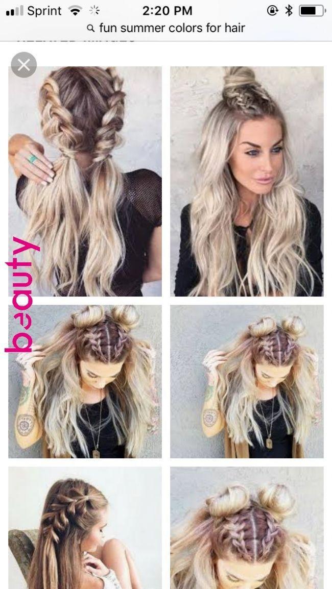Stylish pin beauty frisuren on frisuren hacks in 2019 Braided Hairstyles For Medium Hair Pinterest Ideas