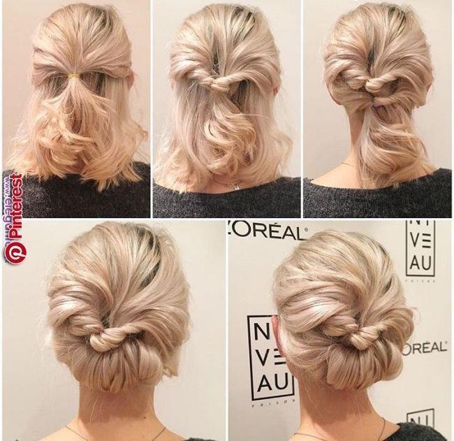 Stylish pin karen nichols on coiffures short hair prom updos Short Hair Updo Ideas Pinterest Inspirations