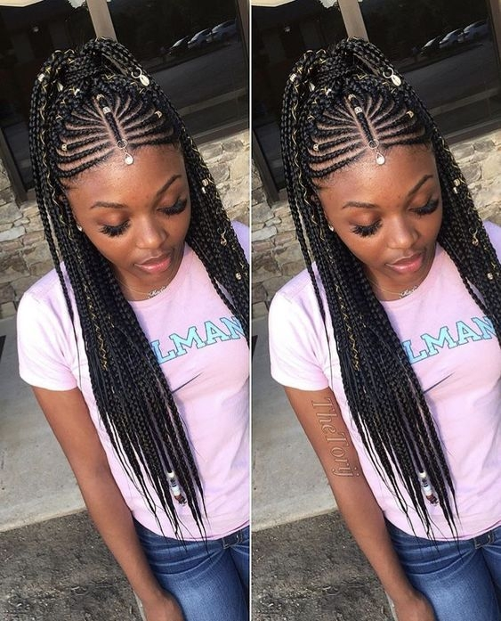 Stylish pin lennie williams on hairstyles african hair braiding African Braids Hairstyle For Girls I Choices