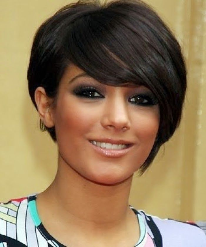 Stylish pin on beauty Best Short Hairstyle For Round Face Female Choices