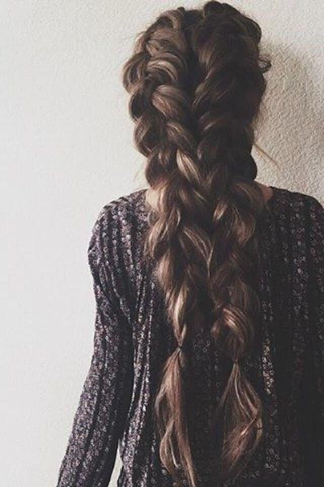Stylish pin on beauty Cool Braid Long Hair Ideas