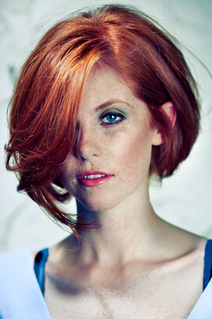 Stylish pin on for my house someday Short Hairstyles For Redheads Ideas
