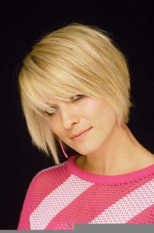 Stylish pin on fun hair nails and beauty Short Bob Haircuts With Bangs For Fine Hair Inspirations