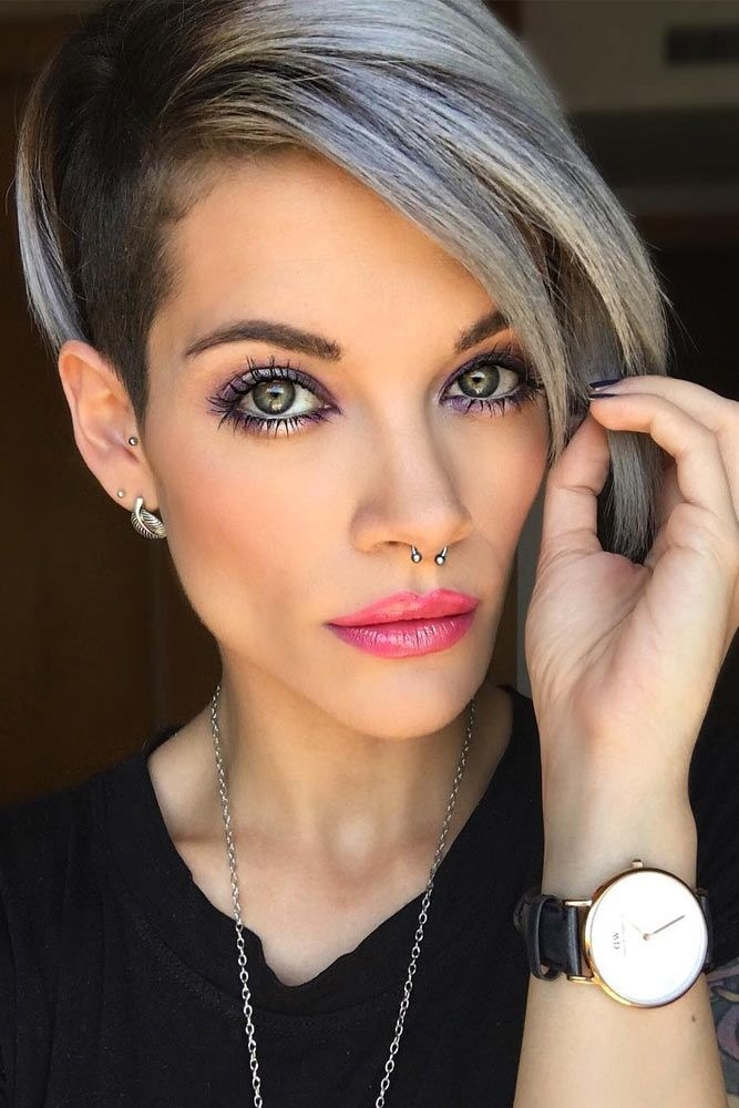 Stylish pin on great hair cuts Trendy Short Hairstyles For Thick Hair Ideas