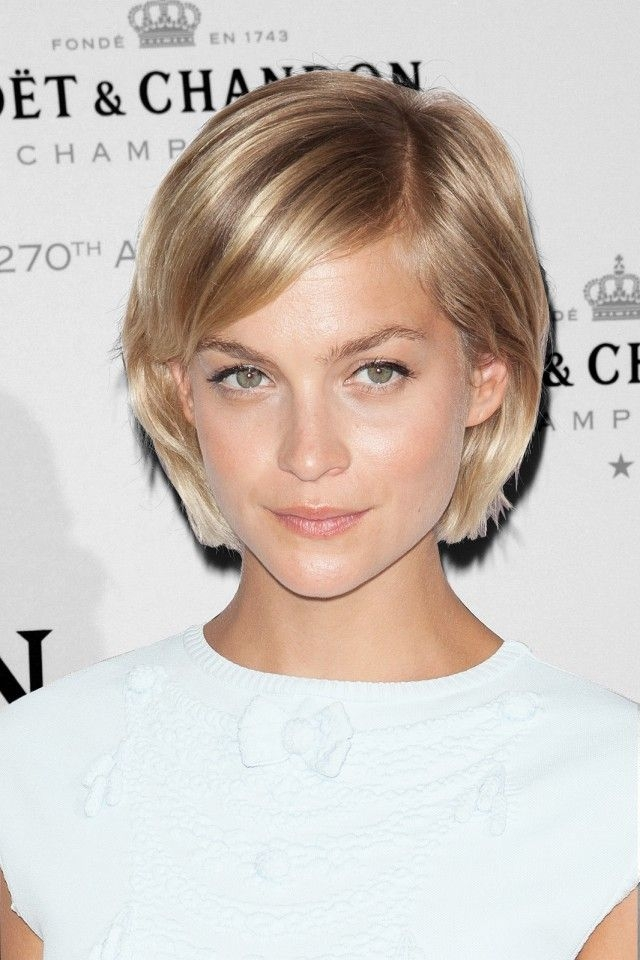 Stylish pin on hair Best Short Haircuts For Heart Shaped Faces Inspirations