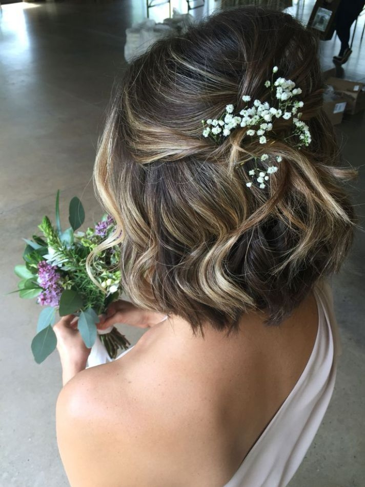 Stylish pin on hair Bridal Hairstyles For Short Hair Pinterest Inspirations