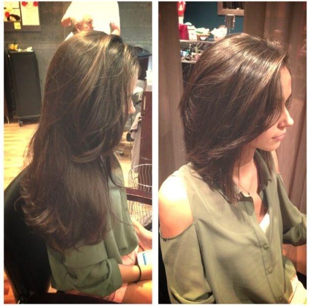 Stylish pin on hair cassi Long Short Hair Styles Ideas