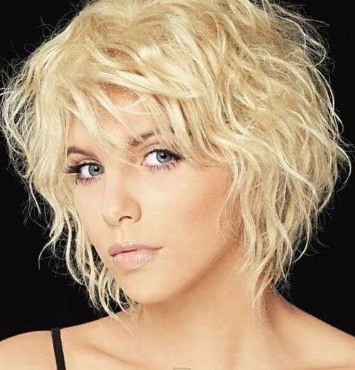 Stylish pin on hair Short Curly Fine Hair Styles Inspirations