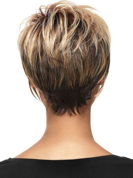 Stylish pin on hair Short Layered Haircuts From The Back Ideas