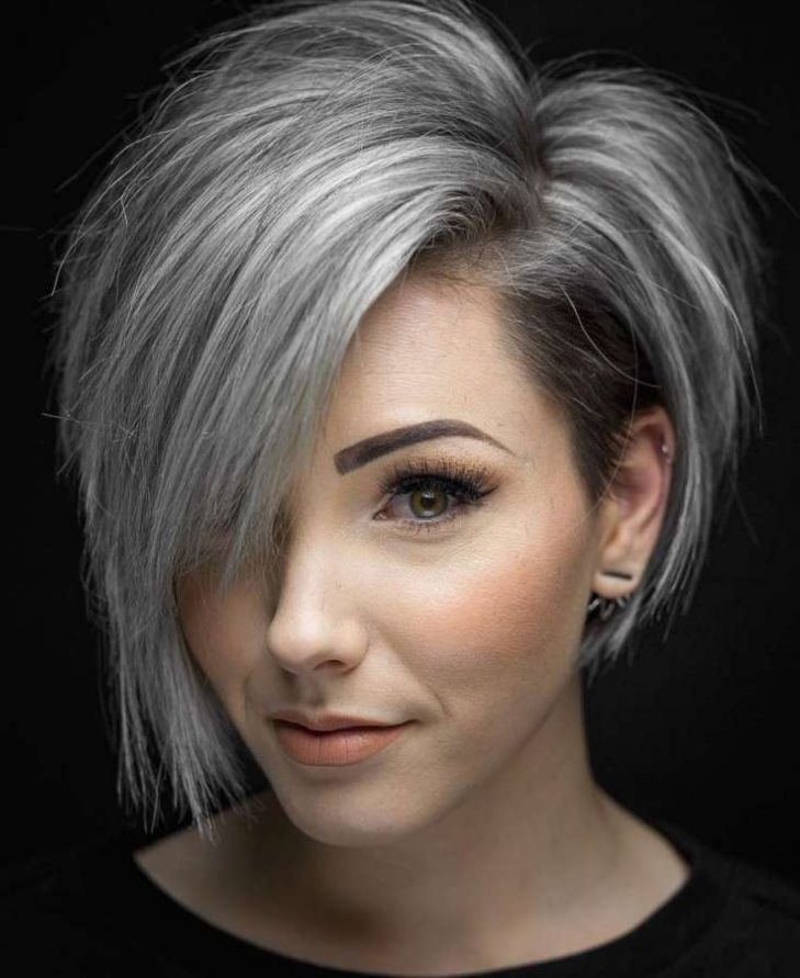 Stylish pin on hairstyles Asymmetric Short Haircuts Choices