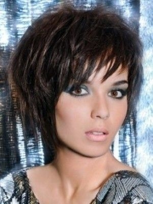 Stylish pin on hairstyles Short Choppy Layered Haircuts Inspirations
