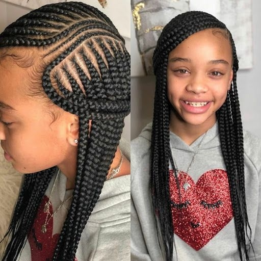 Stylish pin on kid hair styles Kids Braids Hairstyles Choices