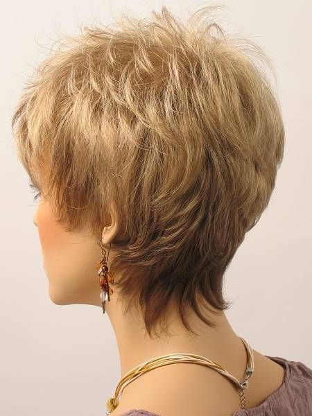 Stylish pin on mature hairstyles Womens Short Haircuts Front And Back Inspirations