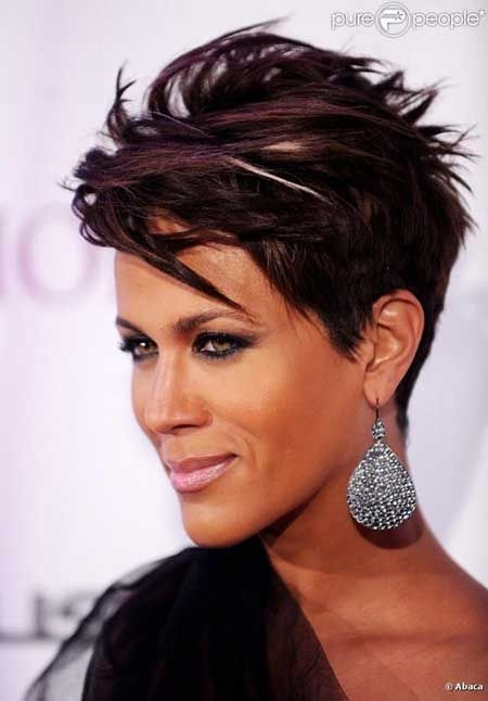 Stylish pin on my hair one day Short Funky Hair Styles Ideas
