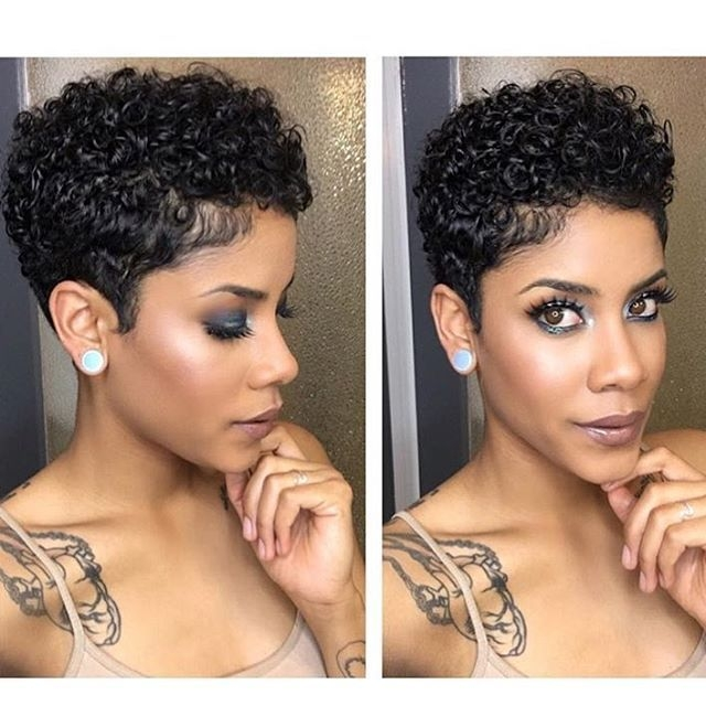 Stylish pin on natural hair styles Short Curly Natural African American Hairstyles Ideas
