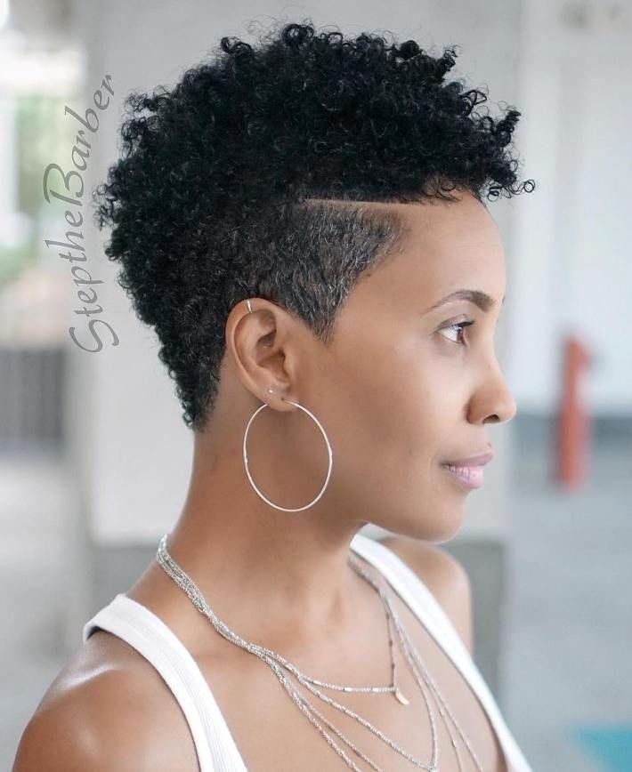 Stylish pin on short styles Short Black Natural Haircuts Ideas