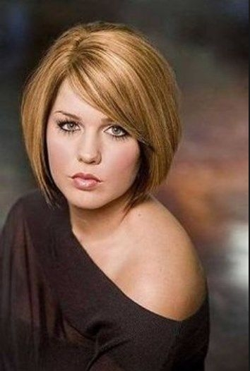 Stylish pin on style Short Haircuts For Fat Women Inspirations