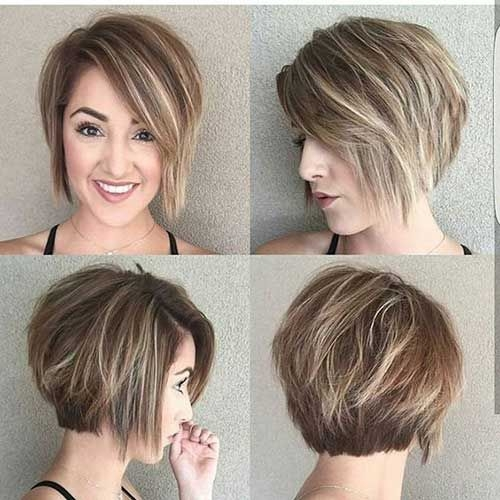 Stylish pin on the cuts i like Short Hairstyles With Bangs And Layers For Round Faces Ideas