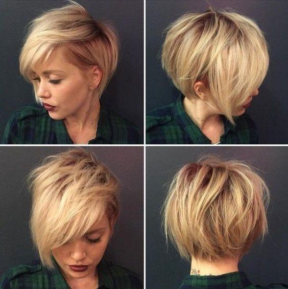 Stylish short asymmetrical hair Asymmetric Short Haircuts Choices
