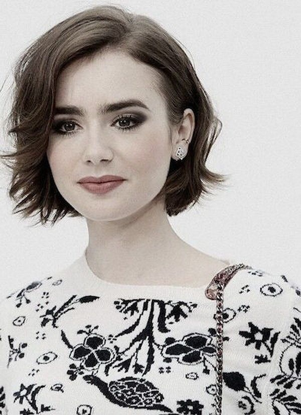 Stylish short bob hairstyle for round faces short hair styles for Best Hairstyle For Round Face Short Hair Choices