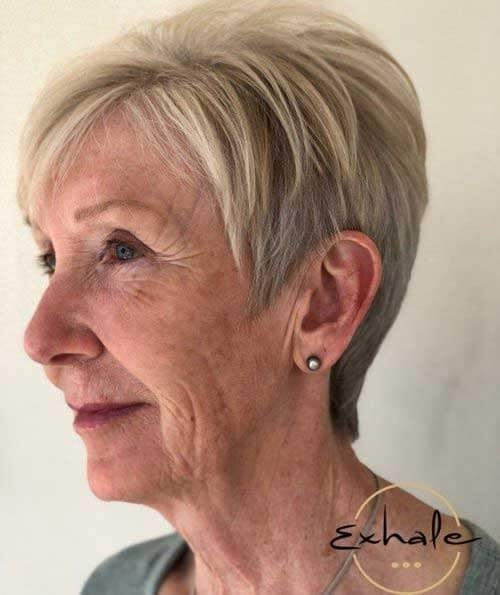 Stylish short haircuts for elderly woman 20 Short Haircuts For Seniors Inspirations