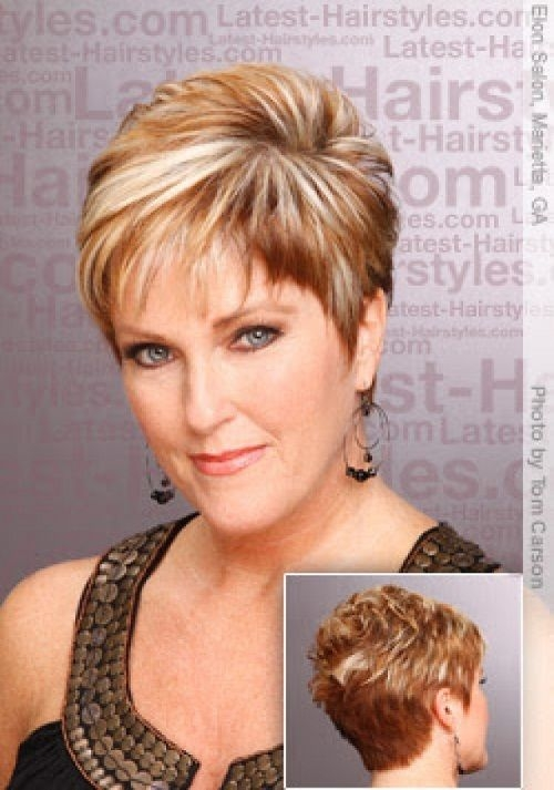 Stylish short hairstyles for thick hair round face hair style and Hairstyles For Round Faces And Thick Hair Short Ideas