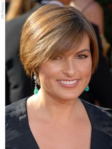 Stylish short hairstyles for women over 50 with round faces short Short Haircut For Thin Hair And Round Face Inspirations