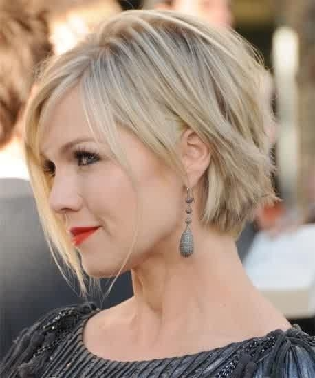 Stylish short low maintenance hairstyles for round faces google Short Haircuts For Thick Hair And Round Face Choices