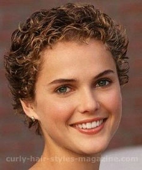 Stylish short permed hairstyles short curly hairstyles for women Short Perm Hair Styles Ideas