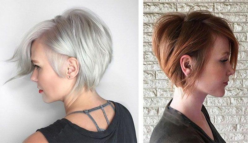 Stylish shortcut hairstyle faceshapehairstyle hair styles Shortcut Hair Styles Choices