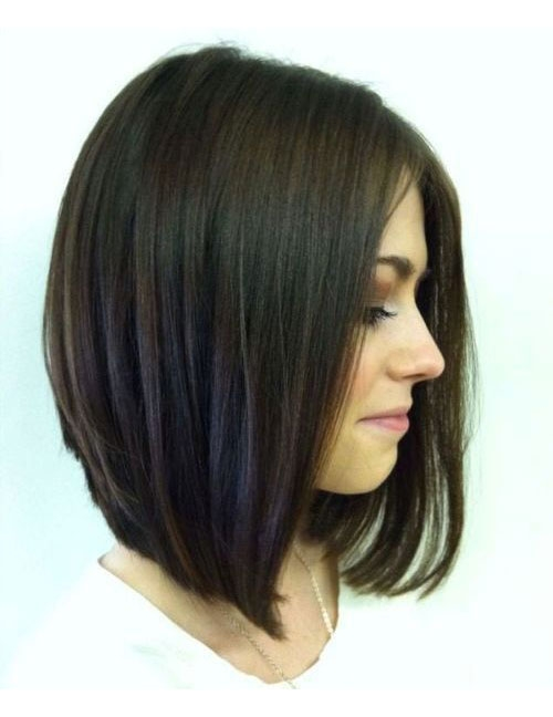 Stylish shoulder length hairstyles to show your hairstylist asap Haircut Styles For Short To Medium Length Hair Ideas