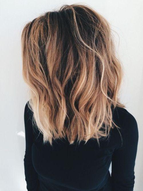 Stylish shoulder length hairstyles tumblr hair styles thick Short Brown Hair Ideas Tumblr Choices
