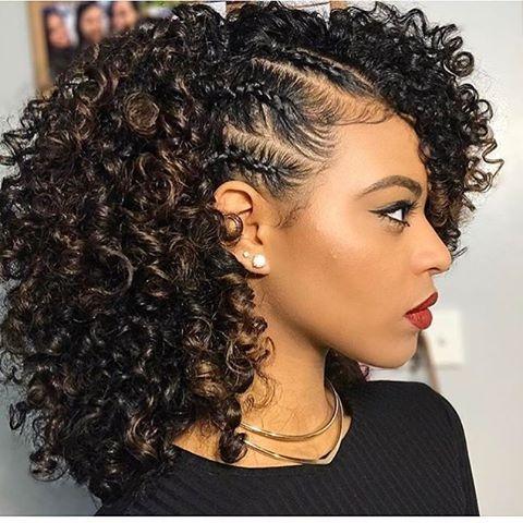 Stylish simply stunning chelliscurls voiceofhair voiceofhair Curly Hair Braiding Styles Ideas