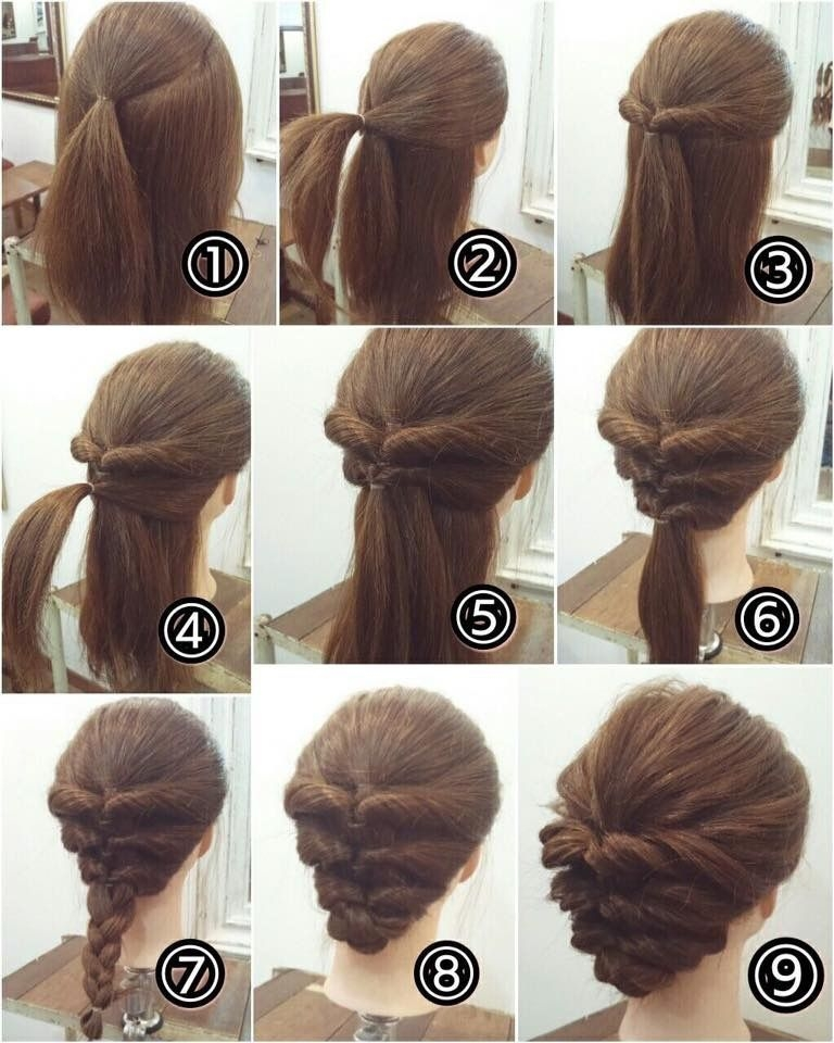 Stylish so simple yet i could never do it short hair styles easy Cool Quick Hairstyles For Short Hair Choices