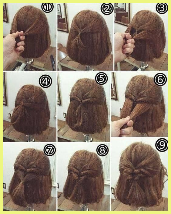 Stylish step step hairstyles for short hair 873 this a step Simple Hairstyles For Very Short Hair Step By Step Inspirations